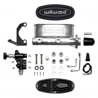 "Wilwood® - 1 1/8"" Bore Ball Burnished High Volume Tandem Master Cylinder Kit"
