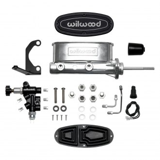 "Wilwood® - 7/8"" Bore Ball Burnished High Volume Tandem Master Cylinder Kit"