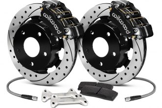 Wilwood® - Drag Race SRP Drilled and Slotted Brake Kit