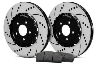 Wilwood® - Drilled and Slotted Front Rotor and Pad Kit