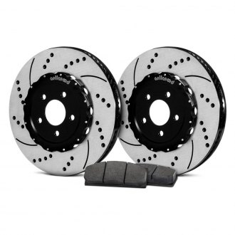 Wilwood® - Drilled and Slotted Rotor and Pad Kit