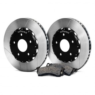 Wilwood® - GT Slotted Front Rotor and Pad Kit