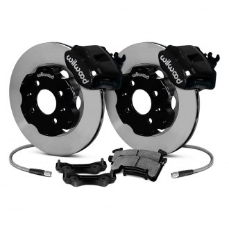 Wilwood® - Combination Parking Caliper Plain Brake Kit