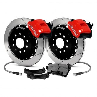 Wilwood® - Combination Parking Caliper Slotted Brake Kit