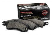 Image may not reflect your exact vehicle! Wilwood® - ProMatrix Street Performance Rear Brake Pads