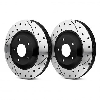 Wilwood® - SRP Dimpled and Slotted Brake Rotors