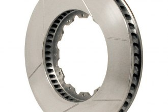 Wilwood® 160-6834 - GT 48 Curved Vane Front Driver Side Rotor