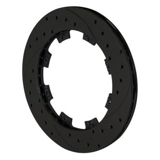 Wilwood® - SRP Drilled Performance Rear Passenger Side Rotor