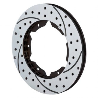 Wilwood® - SRP Drilled Performance Front Driver Side Rotor