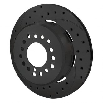 Wilwood® - SRP Drilled Performance & Hat Rear Driver Side Rotor