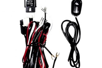 Winjet® Wiring Kit -N - Fog Lights Wiring Harness