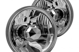 "Winjet® - 5 3/4"" Round Chrome Euro Headlights"