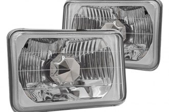 "Winjet® - 5"" Round Chrome Euro Conversion Headlight"