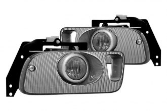 Winjet® - Clear OEM Style Fog Lights - 2/3DR