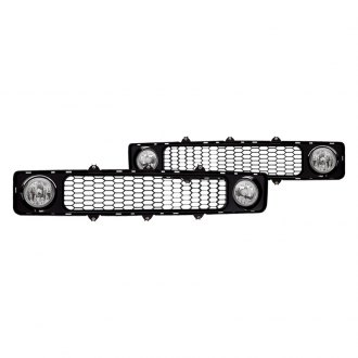 Winjet® - Chrome OEM Style Fog Lights with Grilles