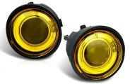 Winjet® - Yellow Halo Projector Fog Lights