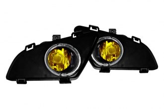 Winjet® - Yellow OEM Style Fog Lights - 4DR