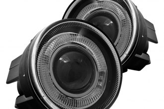 Winjet® WJ30-0095-09 - Clear Halo Projector Fog Lights