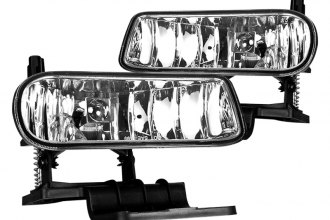 Winjet® WJ30-0125-09 - Chrome OEM Style Fog Lights