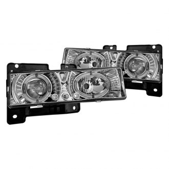 Winjet® - Chrome Halo Projector LED Headlights