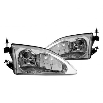 Winjet® - Chrome Euro Headlights
