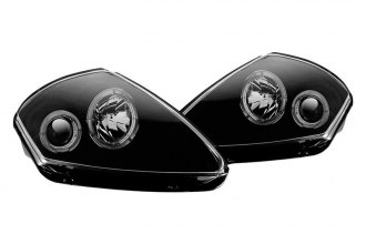 Winjet® - Black Halo Projector Headlights