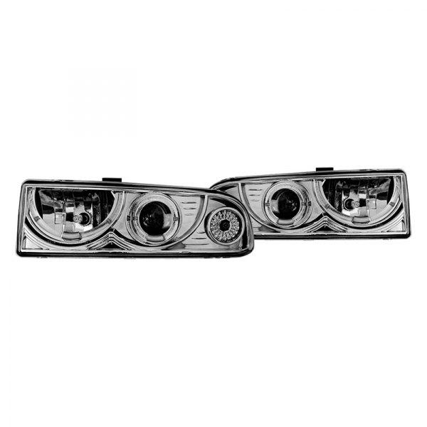 Chevy Blazer 2001 Chrome Halo Projector Headlights