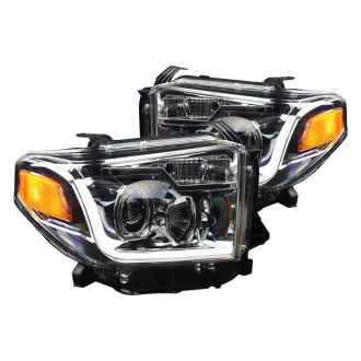 Winjet® - Chrome Projector Headlights with DRL