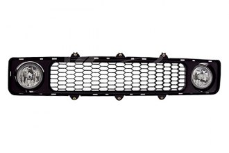 Winjet® - Driver and Passenger Side Factory Style Fog Lights with Grilles