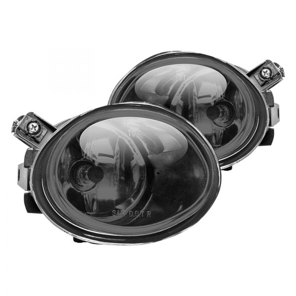 Winjet® - Driver and Passenger Side Smoke Factory Style Fog Lights
