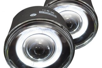 Winjet® - Driver and Passenger Side Halo Projector Fog Lights