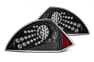 Winjet® - Black LED Tail Lights