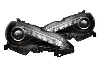 Winjet® - Black Projector Headlights