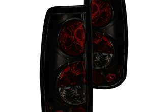 Winjet® - Black/Smoke Euro Tail Lights