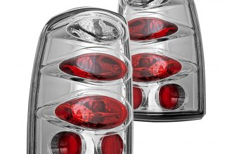 Winjet® - Chrome Euro Tail Lights