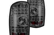 Winjet® - Chrome LED Tail Lights with Smoke Lenses