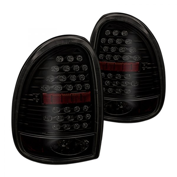 Winjet® - Black/Clear LED Tail Lights