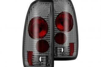 Winjet® - Chrome/Smoke Euro Tail Lights