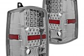 Winjet® - Chrome LED Tail Lights