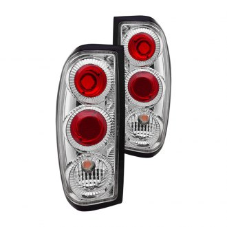 Winjet® - Chrome/Red Euro Tail Lights