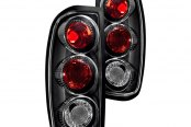 Winjet® - Black Euro Tail Lights