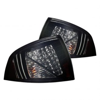 Winjet® - Black/Smoke LED Tail Lights