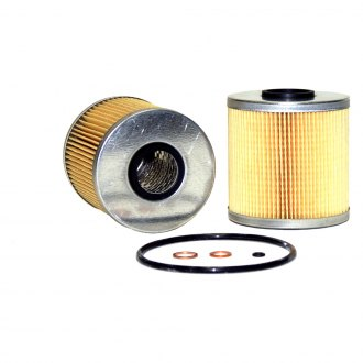 WIX® - Metal Endcap Cellulose Full-Flow Cartridge Lube Metal Canister Oil Filter