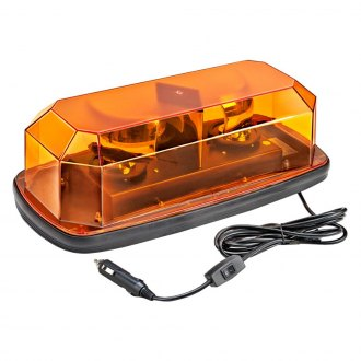 Wolo® - Sirius™ Magnet Mount Mini Amber Halogen Beacon Light Bar