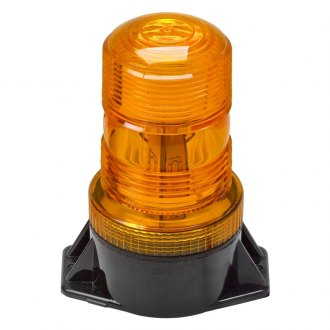 Wolo® - Lightning Bright™ GEN 3 Permanent Mount Amber LED Beacon Light