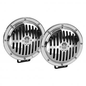 Wolo® - Chrome Grill Disc Horn Set