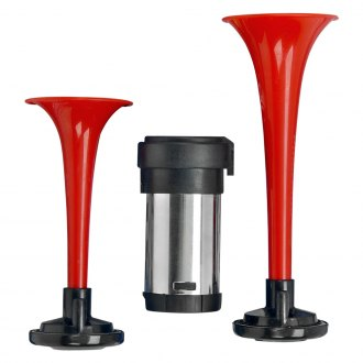 Wolo® - Airmite™ Red Trumpets Air Horn with Heavy Duty Compressor