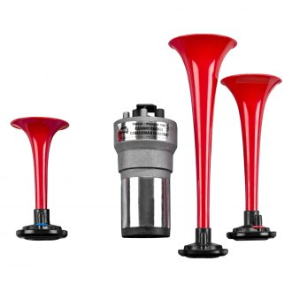 Wolo® - Red Plastic Trumpets Musical Air Horn