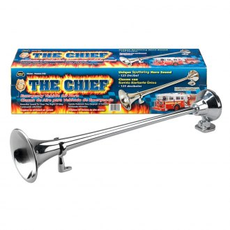 Wolo® - The Chief™ Chrome Trumpet Sputtering Emergency Sound Air Horn