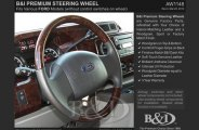 B&I� Steering Wheel - Black Leather